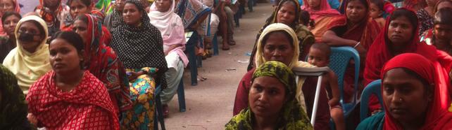 Bangladesch, Textilarbeiterinnen