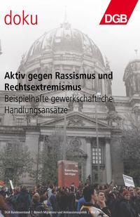 Broschürentitel aktiv gegen Rassismus und Rechtsextremismus
