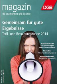 Titel Beamtenmagazin 03/2014