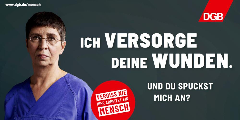 Plakatmotiv Krankenschwester