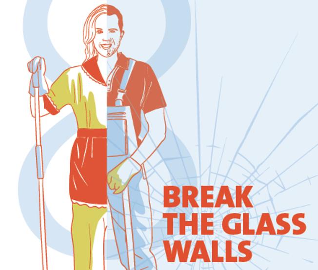 EGB Internationale womens' day 2016 Breaking the glass walls