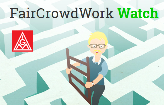 Fair Crowd Work Watch - Bewertungsportal für Crowdworker