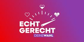 Logo Bundestagswahl 2021 jetzt gerecht!