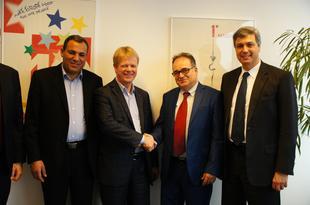 Reiner Hoffmann und tunesische Delegation