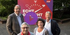 DGB-Vorstand startet Bundestagswahl-Kampagne unter Motto Echt Gerecht