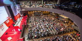 Kongresssaal EGB-Kongress 2015, Paris