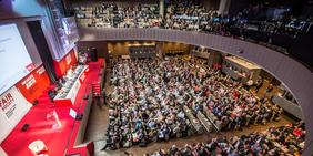 Kongresssaal EGB-Kongress 2015, Paris