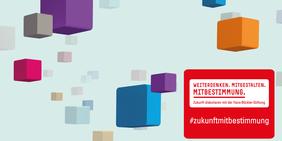 Logo Kampagne der Hans-Böckler-Stiftung Kampagne Zukunft Mitbestimmung