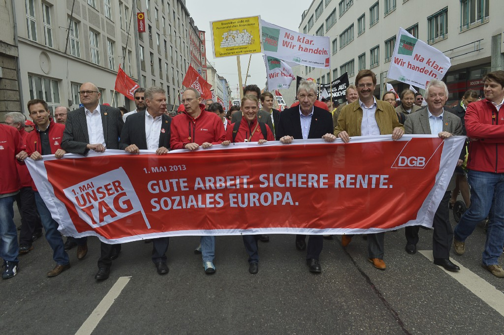 1. Mai 2013 München Hauptkundgebung