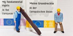Symbolfoto ArbeitnehmerInnen in Europa Grundrechte