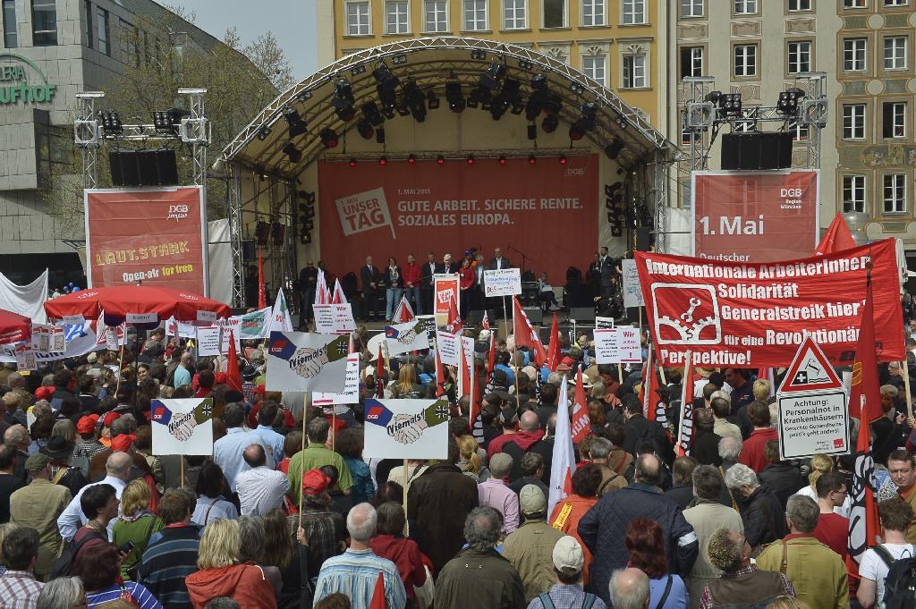 1.Mai 2013 München Hauptkundgebung