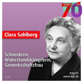 Porträt Clara Sahlberg