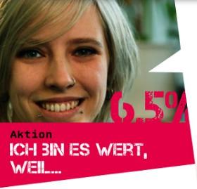 """ver.di Aktion zur Tarifrunde 2012 """"Wir sind es wert"""" für den öffentlichen Dienst"""