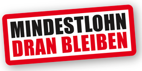 DGB Mindestlohn Logo