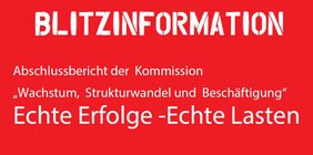 """Blitzinfo zum Kohleausstieg: """"Echte Erfolge - echte Lasten"""""""