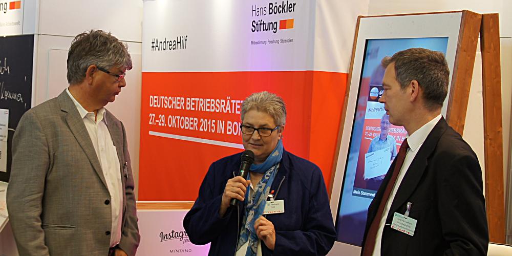Elke Hannack, DGB-Vize, Deutscher BetriebsräteTag