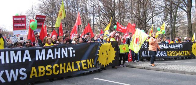 Demonstration gegen Atomkraft, Berlin 26.03.2011