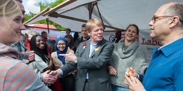 Maikundgebung DGB 2015 Berlin mit: DGB-Vorsitzender Reiner Hoffmann