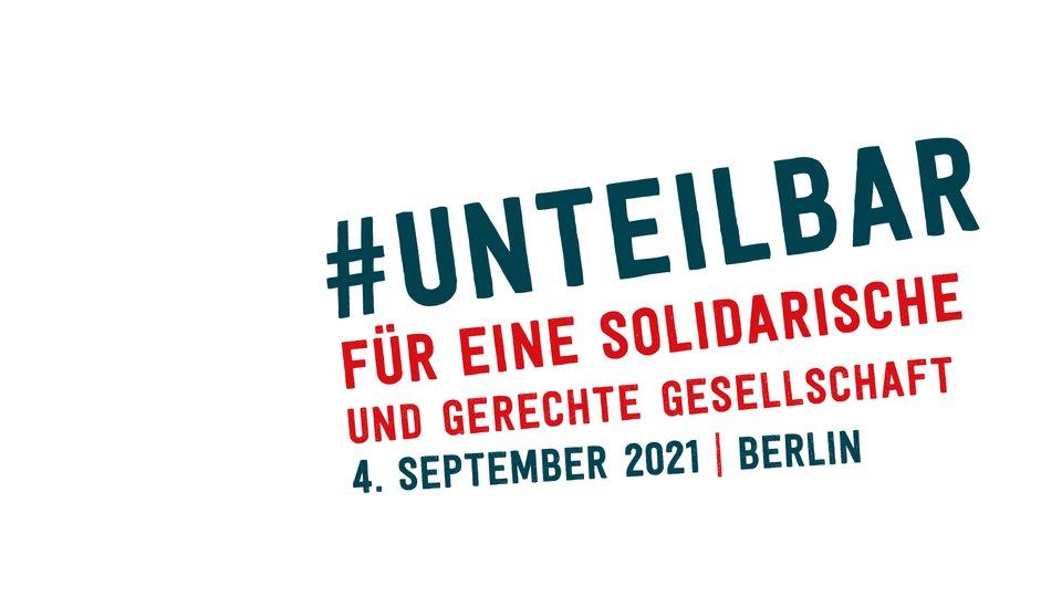#unteilbar Demo Logo