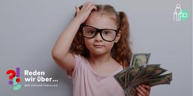 Mädchen mit Geld in der Hand: Sorgt der Bericht der Rentenkommission für eine sichere Rente?