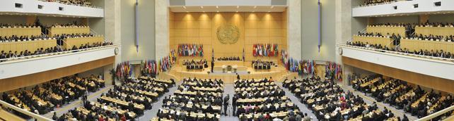 Eröffnungssitzung der 99sten Internationalen Arbeitskonferenz (IAK), Genf, 2. Juni 2011.
