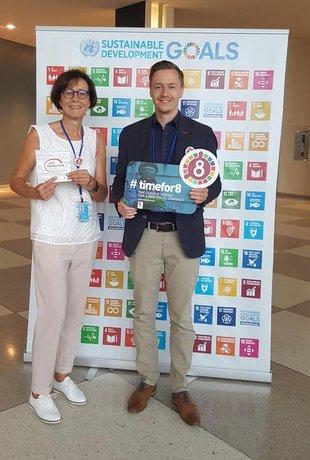 Jan Philipp Paprotny & Carola Dittmann Nachhaltigkeitsgipfel der UN