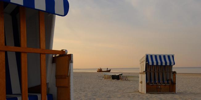 Urlaub und Strand