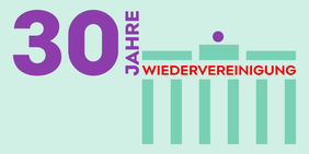 Logo 30 Jahre Wiedervereinigung
