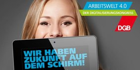 Logo DGB Digitalisierungskongress