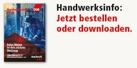 DGB Handwerksinfo bestellen und Rownload