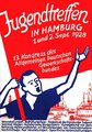 Plakat ADGB Jugend 1928