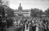 Maikundgebung 1. Mai 1946 Hanau