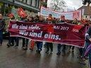 DGB-Kundgebung am 1. Mai 2017 in Sindelfingen