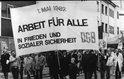 1. Mai 1982 Hanau Plakat Arbeit für alle