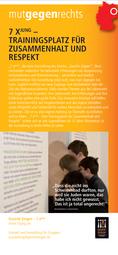 7 x jung – Trainingsplatz für Zusammenhalt und Respekt