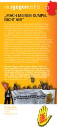 """Verein Die Gelbe Hand:  """"Mach meinen Kumpel nicht an!"""""""