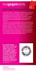 Nazimärsche stoppen: Fest der Demokratie
