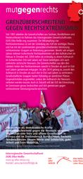 Interregionaler Gewerkschaftsrat Elbe-Neiße: Grenzüberschreitend gegen Rechtsextremismus
