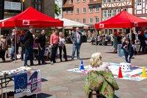 Aktionstag zur Europawahl am 18. Mai in Göttingen.