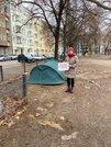 Obdachlose am Comeniusplatz in Berlin-Friedrichshain