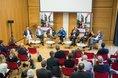 Diskussion mit Stefan Körzell (DGB) und den Bundestagsabgeordneten Fabio De Masi (Die Linke), Katharina Dröge (B90/Die Grünen), Ulrich Freese (SPD) Reinhard Houben (FDP), Carsten Müller (CDU)