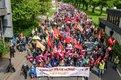 Demo-Zug am 1. Mai 2018 in Dortmund
