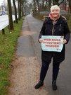 Juliane Hoffmann setzt sich für bessere Radwege in der DGB-Region Schleswig-Holstein Süd ein