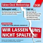 DGB Fakten Werkverträge