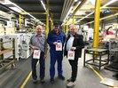 Betriebliche Aktion zur Europawahl bei der Firma Beulco in Attendorn.