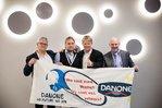 Reiner Hoffmann zeigt Solidarität mit Danone-Beschäftigten aus Rosenheim