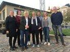 Gruppenbild DGB-Delegation mit Kollegin der dänischen Gewerkschaft