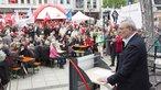 Dietmar Muscheid bei der 1.Mai-Kundgebung