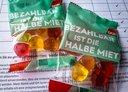 Gummibärchen: Bezahlbar ist die halbe Miete
