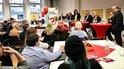 DGB-Veranstaltung gegen Mietenwahnsinn in Mainz mit Regionsgeschäftsführer Dietmar Muscheid
